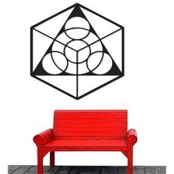 Cosmic imagine pe peretele placajului dimensiuni de la 50 la 90 cm