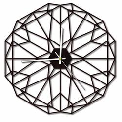 Sentop - Ceas de perete MDF pentru camera de zi HDKF017 și negru