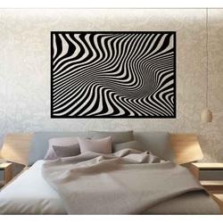 Sentop - Tablou decorativ pe peretele unei zebre