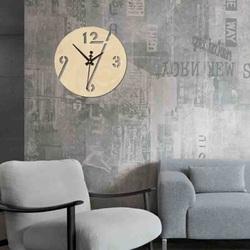 Sentop - Ceas de perete modern ARON PR0354 de asemenea negru