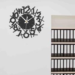 Sentop - Ceas de perete modern SAJFA PR0355 și negru