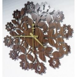 Sentop - Ceas de perete din MDF pentru bucătărie HDKF018, de asemenea, negru