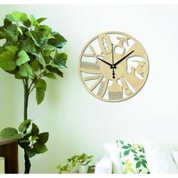 Sentop - Nowoczesny zegar fryzjerski GAJFA PR0358 I czarny
