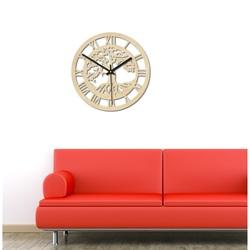 Sentop - Arborele ceasului din lemn al figurilor romane