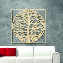 Sentop - Imagine pe peretele unui copac într-un cadru  MRLVEN A