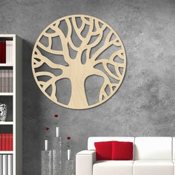 Stylesa - Pictură modernă din lemn pe perete realizată din placaj POCCITT PR0384