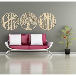 Stylesa - 3 dílný obraz na stěnu YOSED