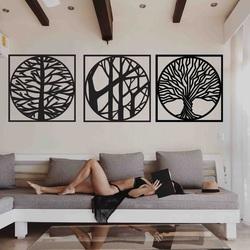 Stylesa - pictură din 3 piese pe perete DESIRROO