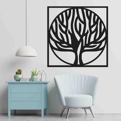 Stylesa - Pictură din lemn pe un perete de copac într-un cadru UASVED