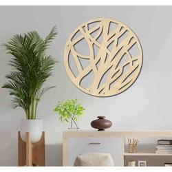 Sentop - Drewniany obraz na okrągłej ścianie FOHOLHH