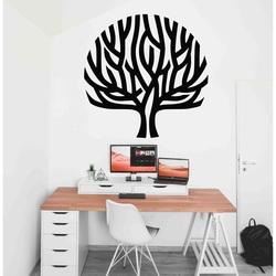 Stylesa - Pictură modernă din lemn pe un perete de copac vânt în ramuri