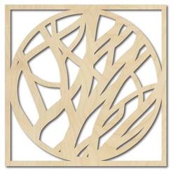 Stylesa - Pictură din lemn pe perete HOGOFOGO
