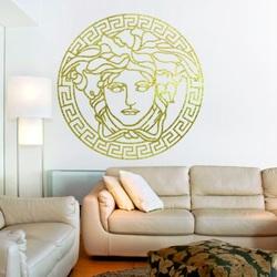 Sentop - Pictură modernă pe peretele unei meduze - decor din lemn