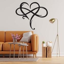 Sentop - Pictură din lemn pe peretele iubirii infinite