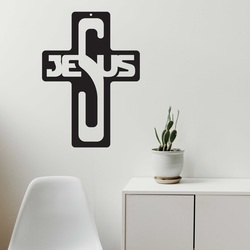 Decoratiuni din lemn - Isus, dimensiune-260x187 mm