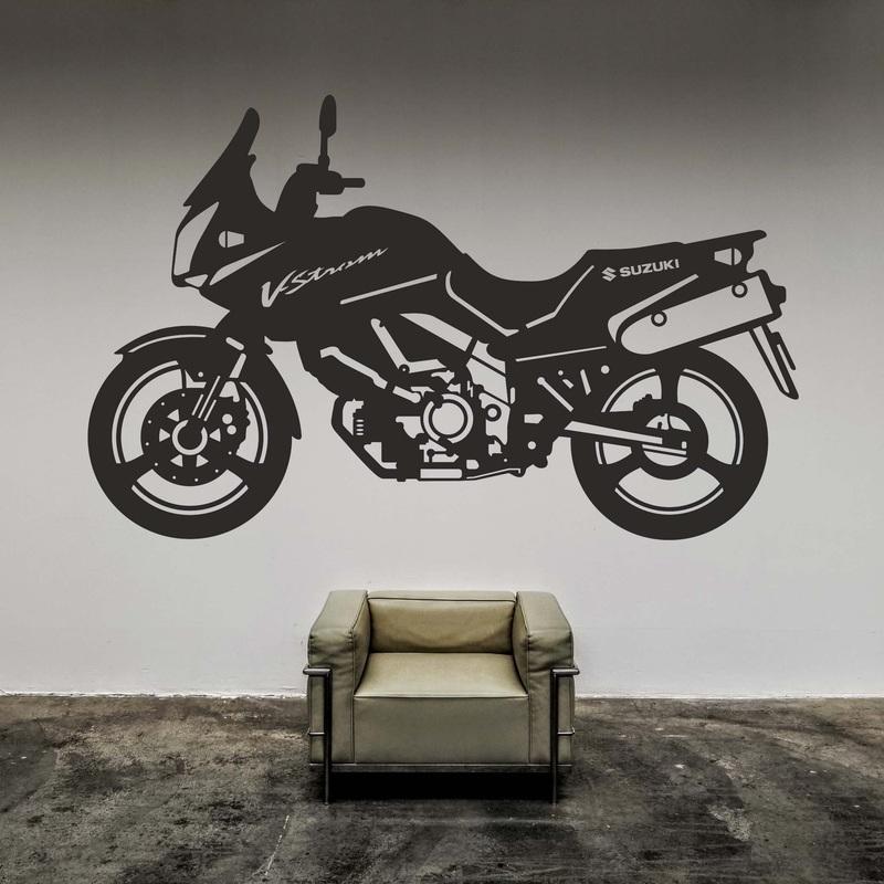 Pictură elegantă de perete - V-Strom SUZUKI | SENTOP