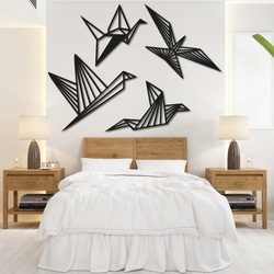 Moderní obraz na stěnu - svobodné ptáci 4 ks - LIBERDADE | SENTOP