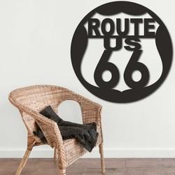 Dřevěný obraz na stěnu U.S. ROUTE 66 | SENTOP