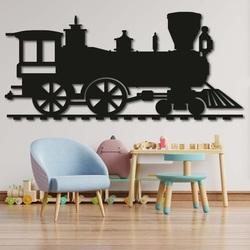 Pictura din lemn pe perete - TRAIN SANTE|SENTOP