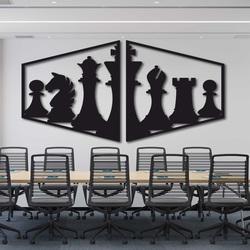 Pictură elegantă pe peretele unei piese de șah - MIVAL | SENTOP