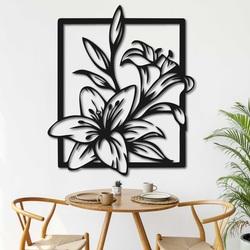 Imagine sculptată pe perete crin frumos - INNOCENCE | SENTOP