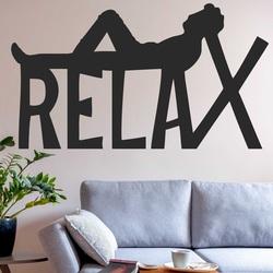 Dřevěný obraz na stěnu - RELAX   SENTOP