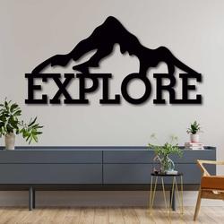 Tablou din lemn sculptat - EXPLORE | SENTOP