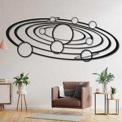 Pictură modernă pe sistemul solar de perete -  SOLAR | SENTOP
