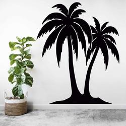 Pictură sculptată pe peretele unui palmier - TROPICAL | SENTOP
