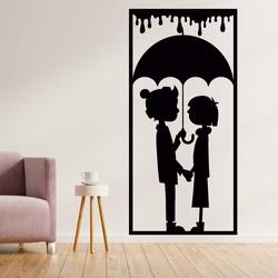 Imagine romantică pe peretele unui cuplu iubitor - DRAGOSTE | SENTOP