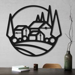 Pictură din lemn pe peretele caselor - MOLDE | SENTOP