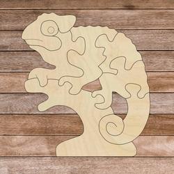 Insert montessori din lemn pentru copii - CAMELEON | SENTOP