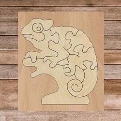 Bicolor insert montessori din lemn pentru copii - CAMELEON PLOP | SENTOP