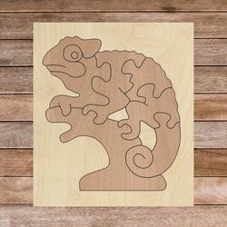 Bicolor insert montessori din lemn pentru copii - CAMELEON FAG| SENTOP