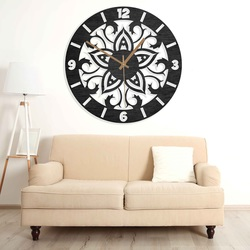 Ceasuri din lemn - ornamente naturale și colorate | SENTOP PR0441