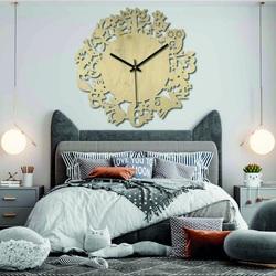 Ceasuri din lemn - Animale din pădure - Negre și colorate | SENTOP PR0451