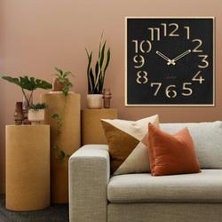 Ceas de perete din lemn - Sentop | HDFK024 | arțar