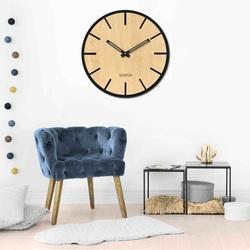 Ceas de perete din lemn - Sentop | HDFK026 | arțar