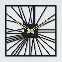 Zegar ścienny - Sentop   HDFK027   z drewna