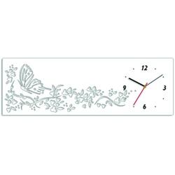 Ceas de perete Tepeta. Culoarea albă. Dimensiuni 60 x 20 cm
