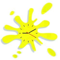 SENTOP Ceas de perete soare Z18K galben