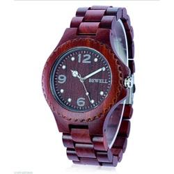 Ceas de mână modern din lemn Graciela
