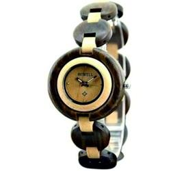 Încheietura ceas pentru femei - lemn negru