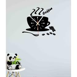 Ceas de perete color VESTA, Culoare: Oglindă, SILVER