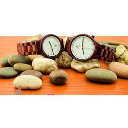 Ceas de mînă din lemn ABC - ALK VISION