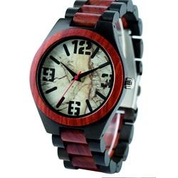 Ceas de mână din lemn-Retro - Yisuya