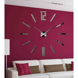 Modern ceas de perete 3D în sufragerie - ZAHIR