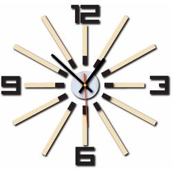 3D ceas de culoare WARRAS, culoare: maro închis, cafea albă