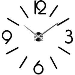 3D ceas de perete elegant în camera de zi MACKIE