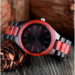 Ceasuri de mână din lemn- Romanul Twelfth-Yisuya
